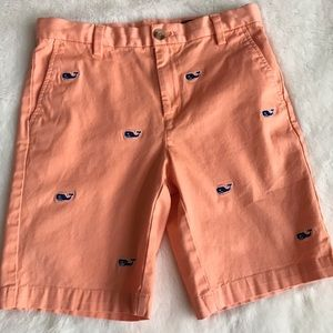 NWOT VINEYARD VINES EMBROIDERED WHALE SHORTS SZ12